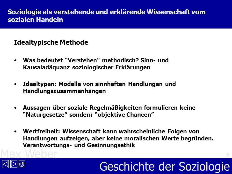 Idealtypische Methode