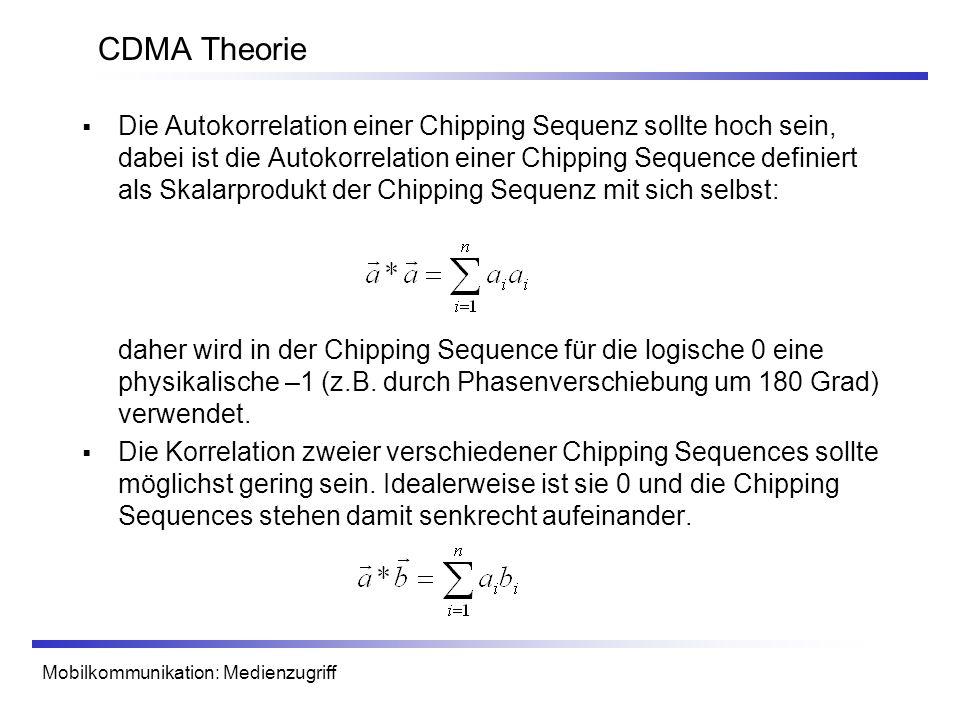 CDMA Theorie