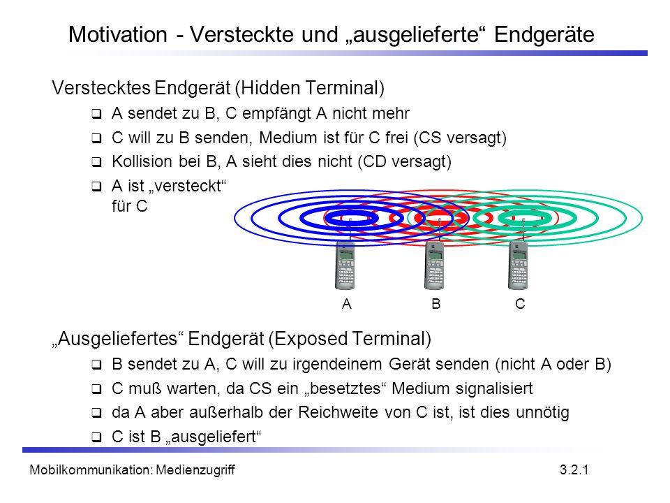"""Motivation - Versteckte und """"ausgelieferte Endgeräte"""