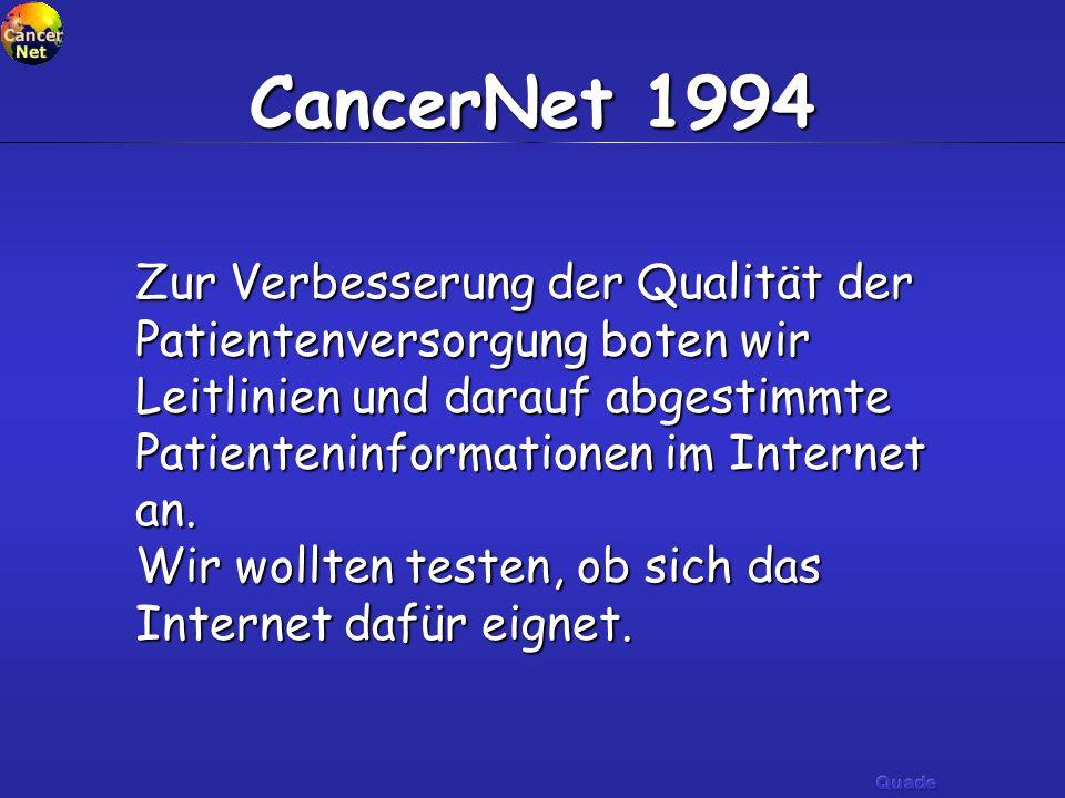CancerNet 1994