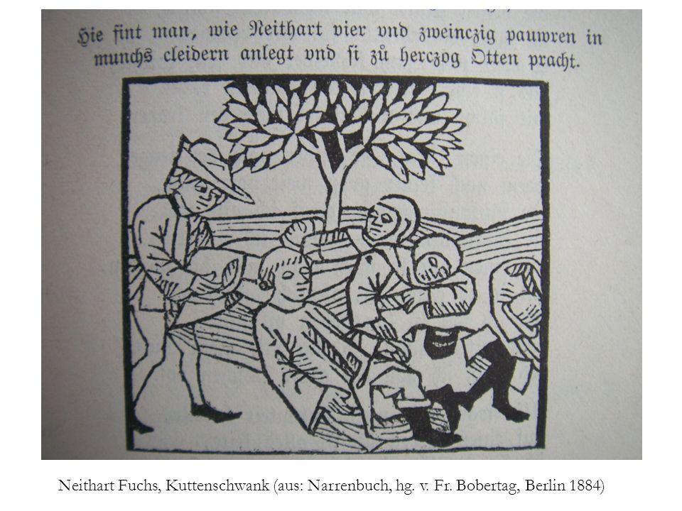 Neithart Fuchs, Kuttenschwank (aus: Narrenbuch, hg. v. Fr