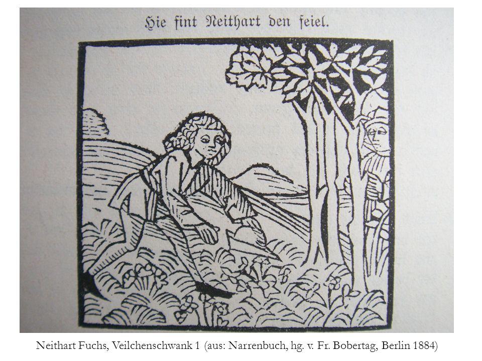 Neithart Fuchs, Veilchenschwank 1 (aus: Narrenbuch, hg. v. Fr