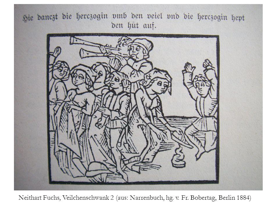 Neithart Fuchs, Veilchenschwank 2 (aus: Narrenbuch, hg. v. Fr