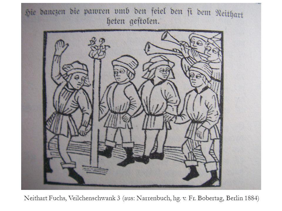 Neithart Fuchs, Veilchenschwank 3 (aus: Narrenbuch, hg. v. Fr