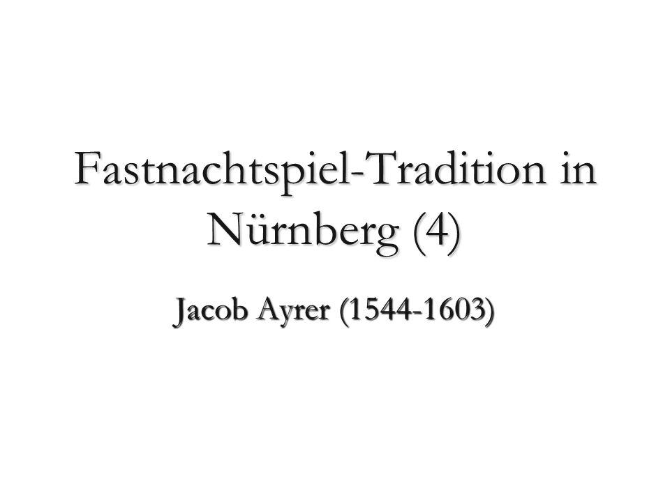 Fastnachtspiel-Tradition in Nürnberg (4)