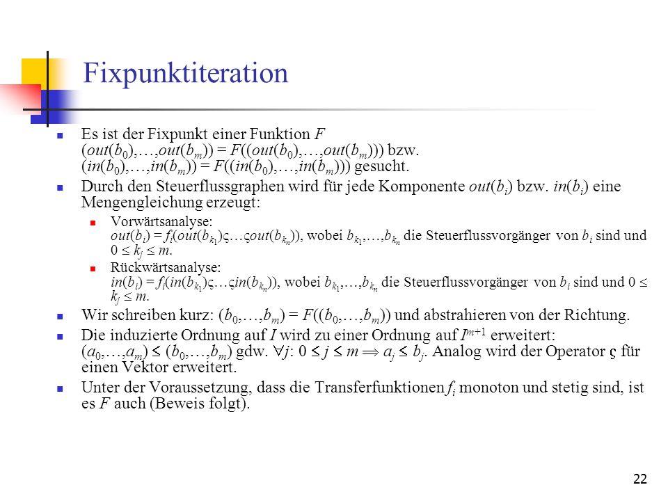 Fixpunktiteration