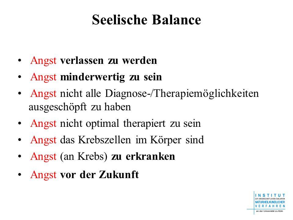 Seelische Balance • Angst verlassen zu werden