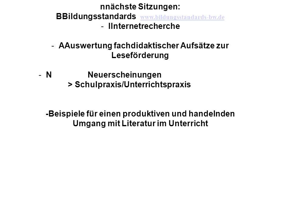 BBildungsstandards www.bildungsstandards-bw.de IInternetrecherche