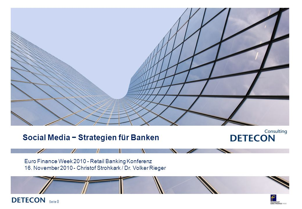 Social Media − Strategien für Banken