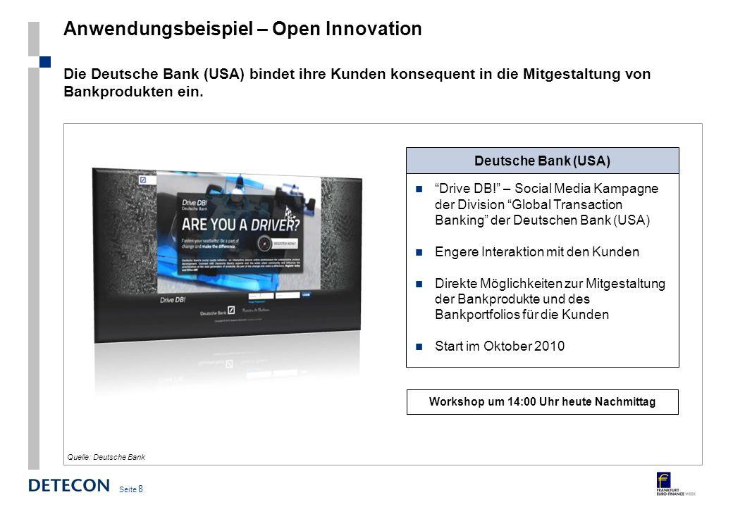 Anwendungsbeispiel – Open Innovation