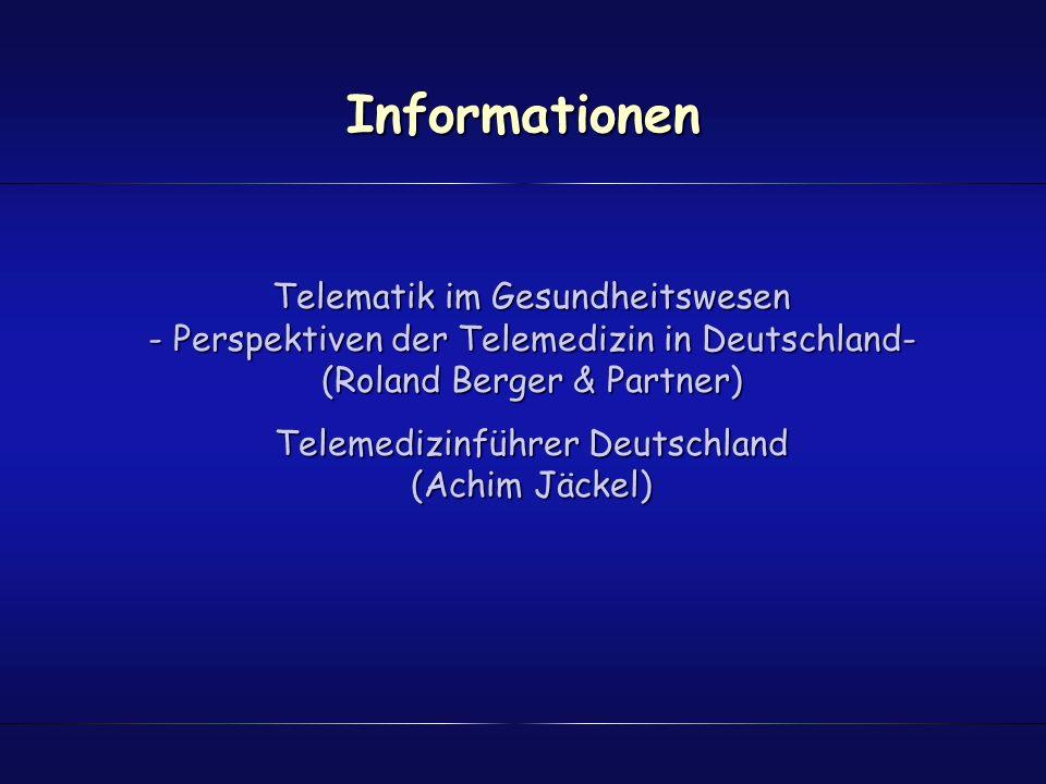 Telemedizinführer Deutschland (Achim Jäckel)