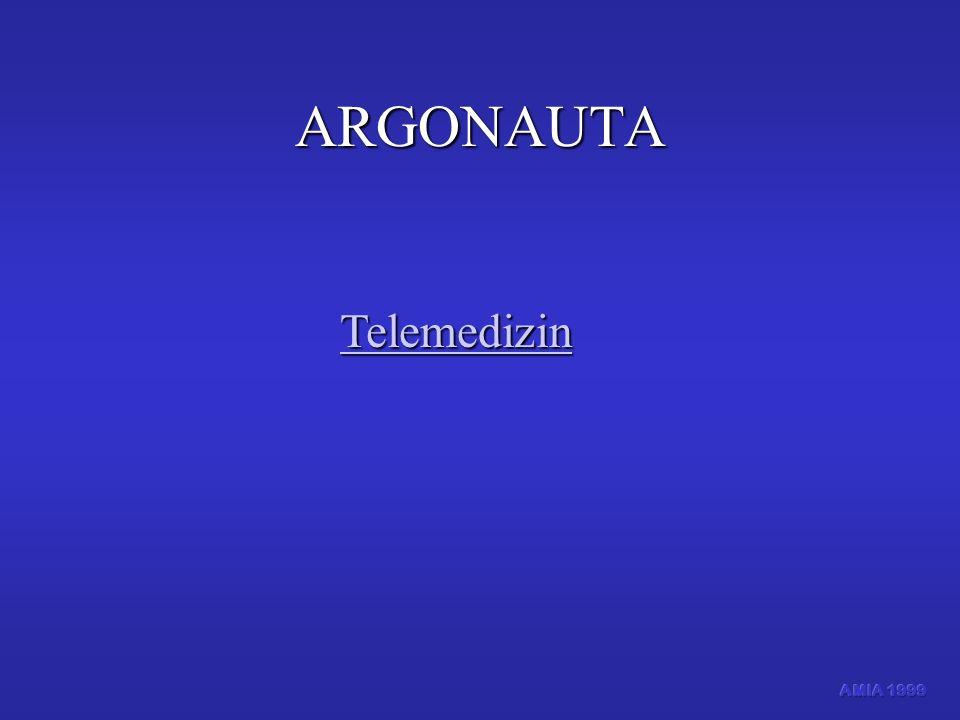 ARGONAUTA Telemedizin AMIA 1999