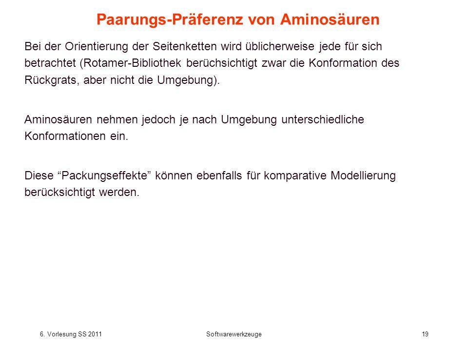 Paarungs-Präferenz von Aminosäuren