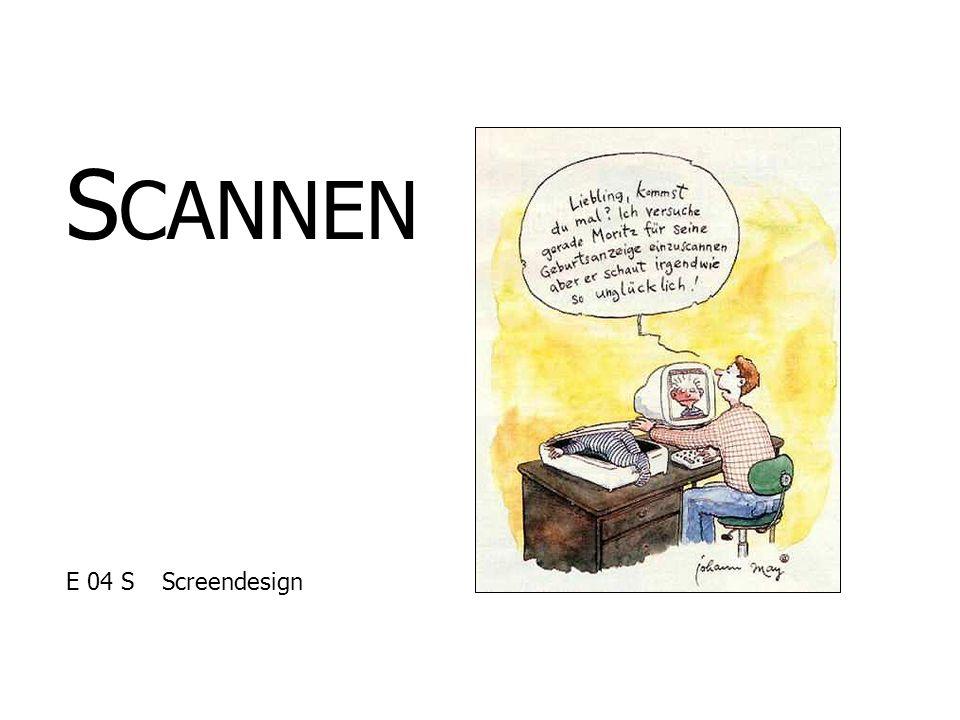 SCANNEN E 04 S Screendesign