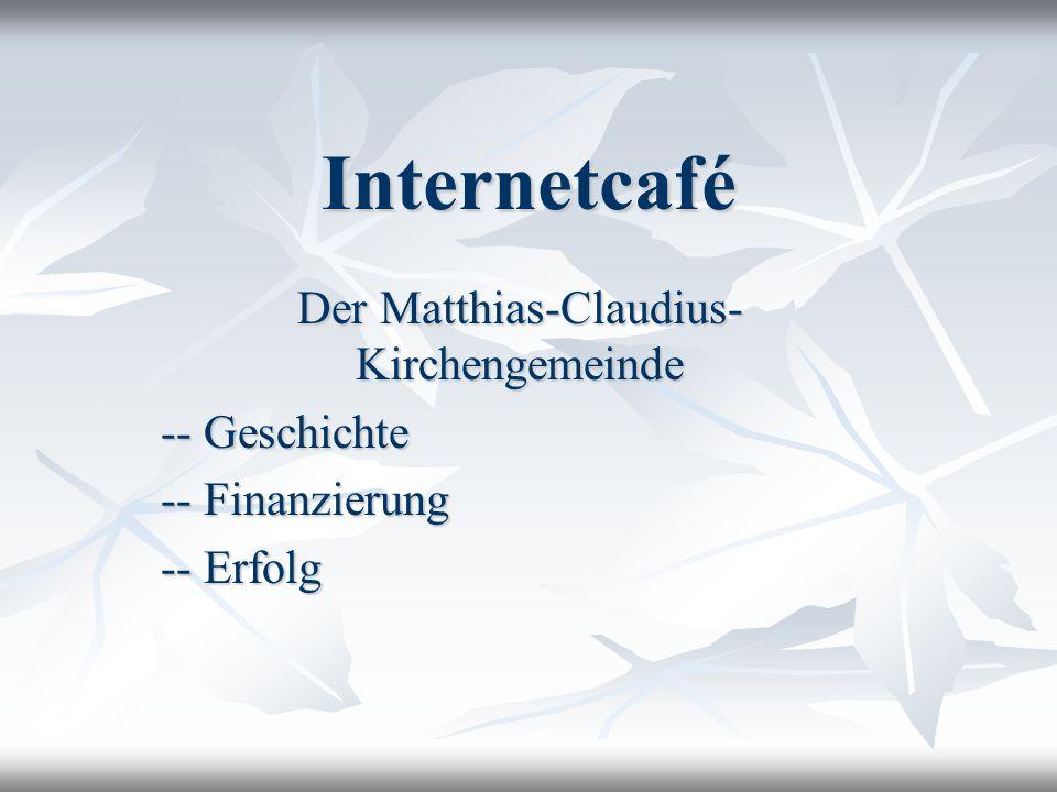 Der Matthias-Claudius-Kirchengemeinde