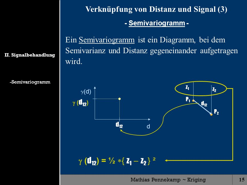 Verknüpfung von Distanz und Signal (3)