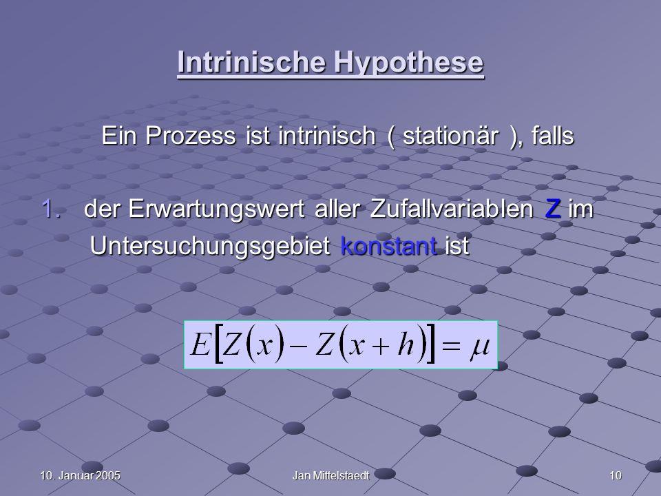 Intrinische Hypothese