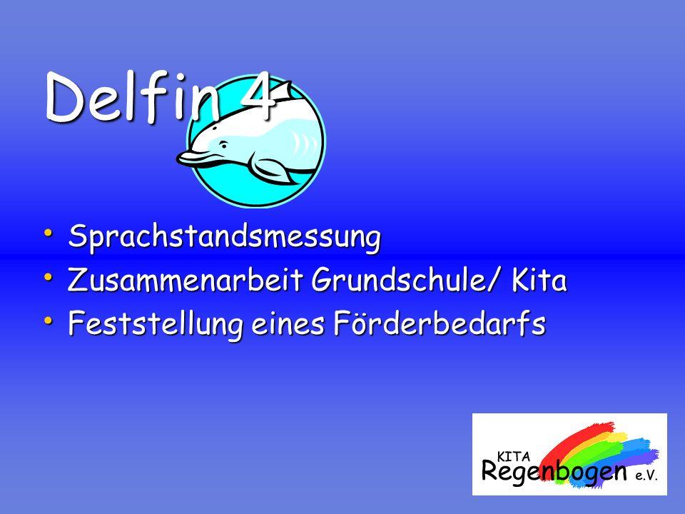 Delfin 4 Sprachstandsmessung Zusammenarbeit Grundschule/ Kita