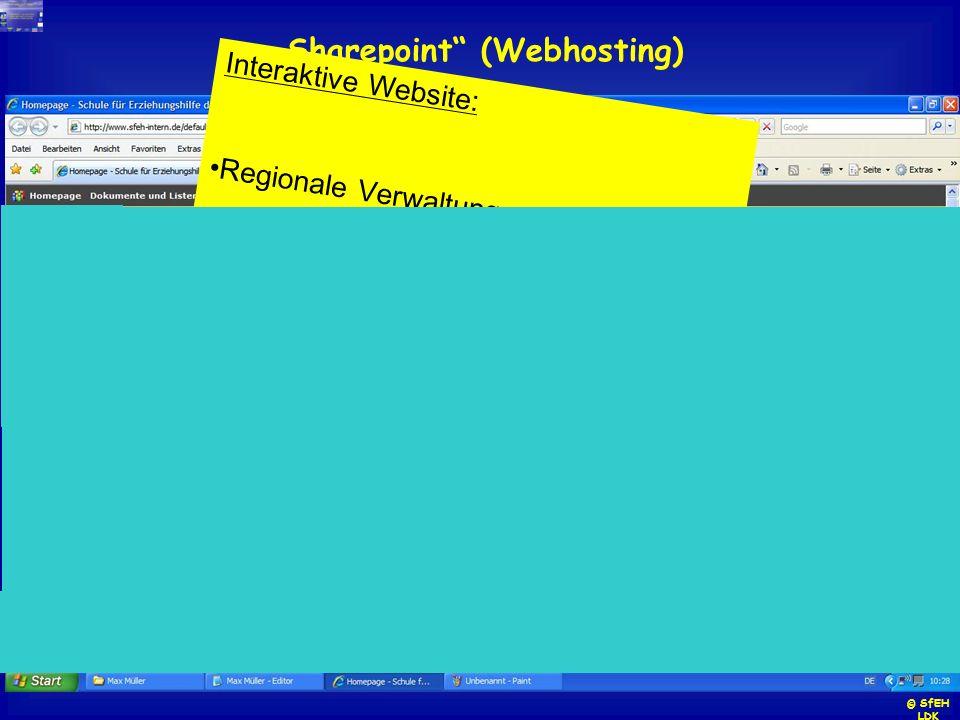 """""""Sharepoint (Webhosting)"""