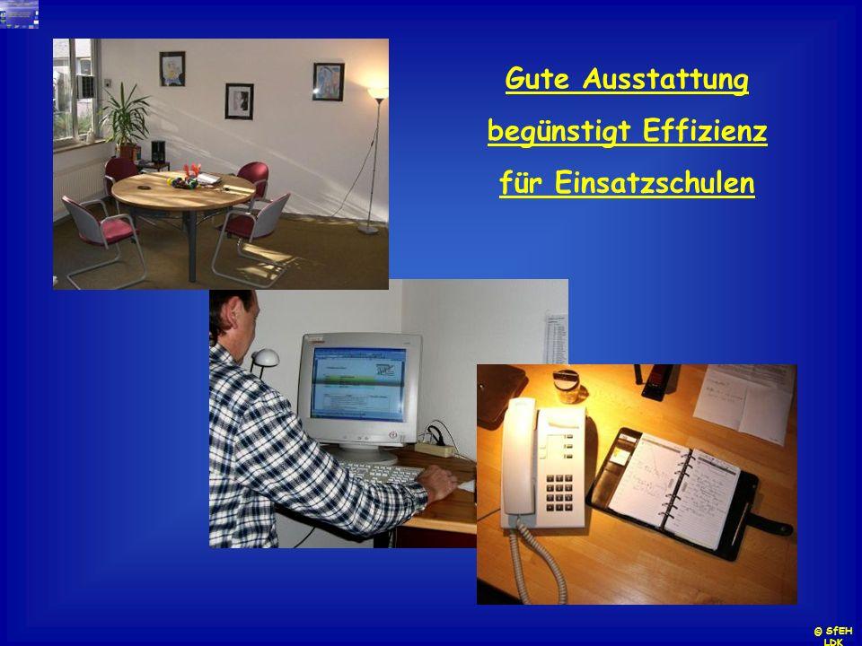 Gute Ausstattung begünstigt Effizienz für Einsatzschulen
