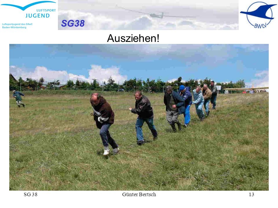 SG38 Ausziehen! SG 38 Günter Bertsch