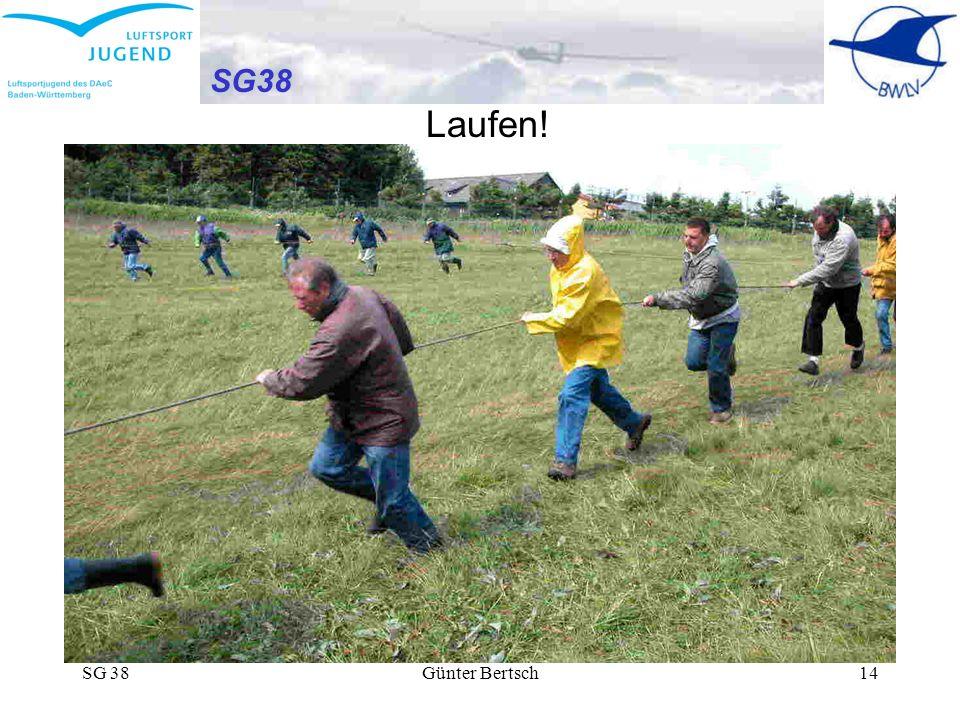 SG38 Laufen! SG 38 Günter Bertsch