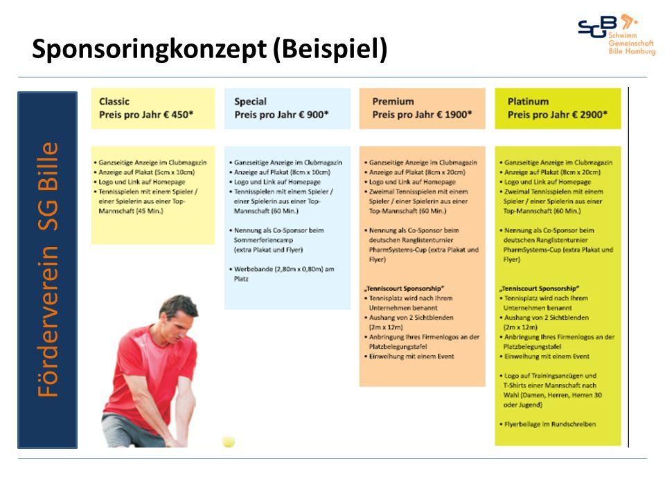 Sponsoringkonzept (Beispiel)