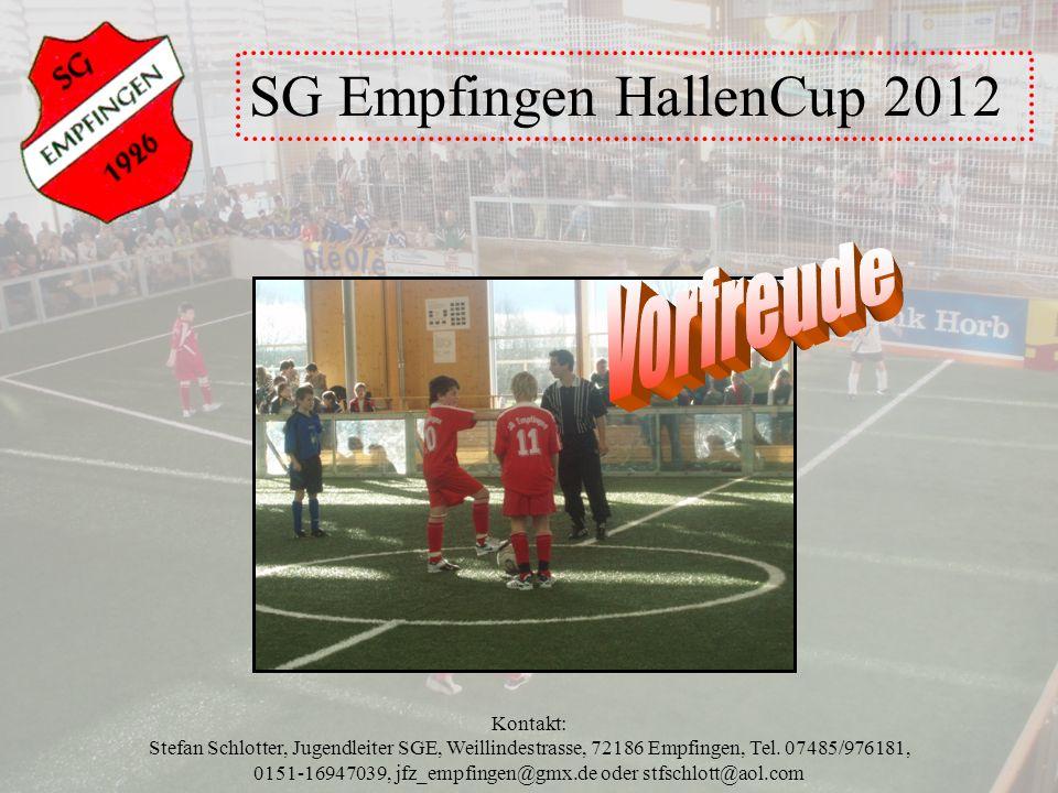 SG Empfingen HallenCup 2012