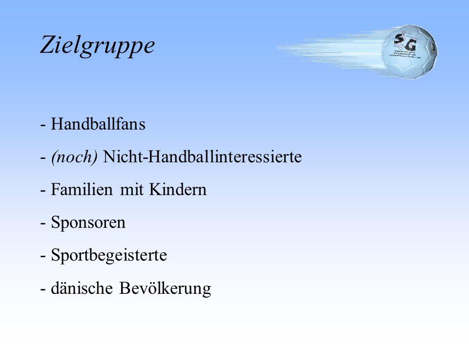 Zielgruppe - Handballfans (noch) Nicht-Handballinteressierte
