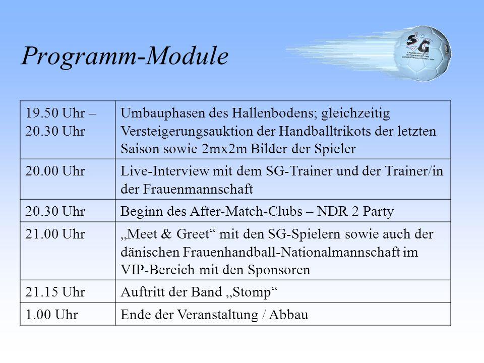 Programm-Module 19.50 Uhr – 20.30 Uhr