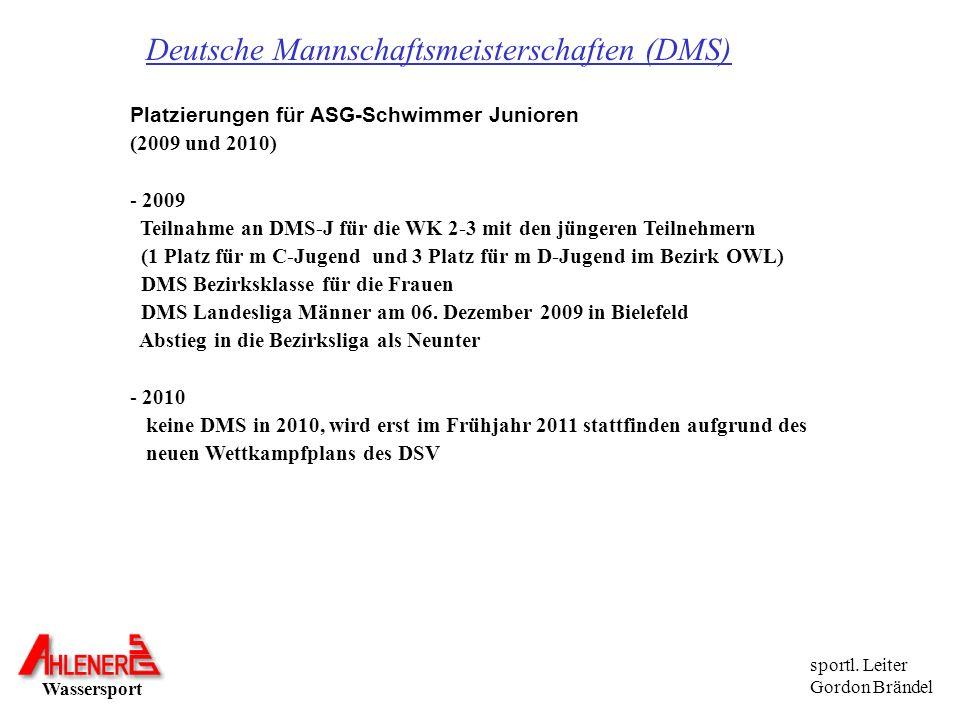 Deutsche Mannschaftsmeisterschaften (DMS)