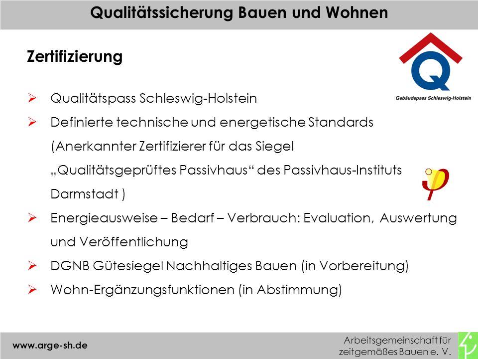 Qualitätssicherung Bauen und Wohnen