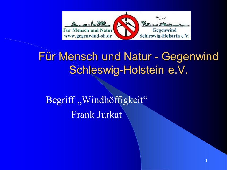 Für Mensch und Natur - Gegenwind Schleswig-Holstein e.V.
