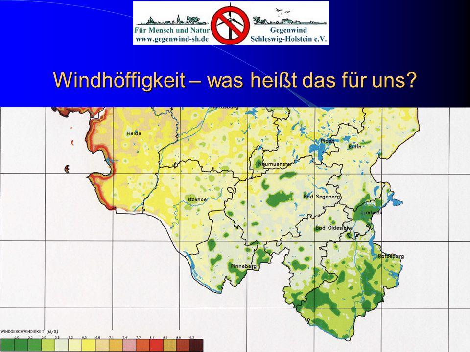 Windhöffigkeit – was heißt das für uns