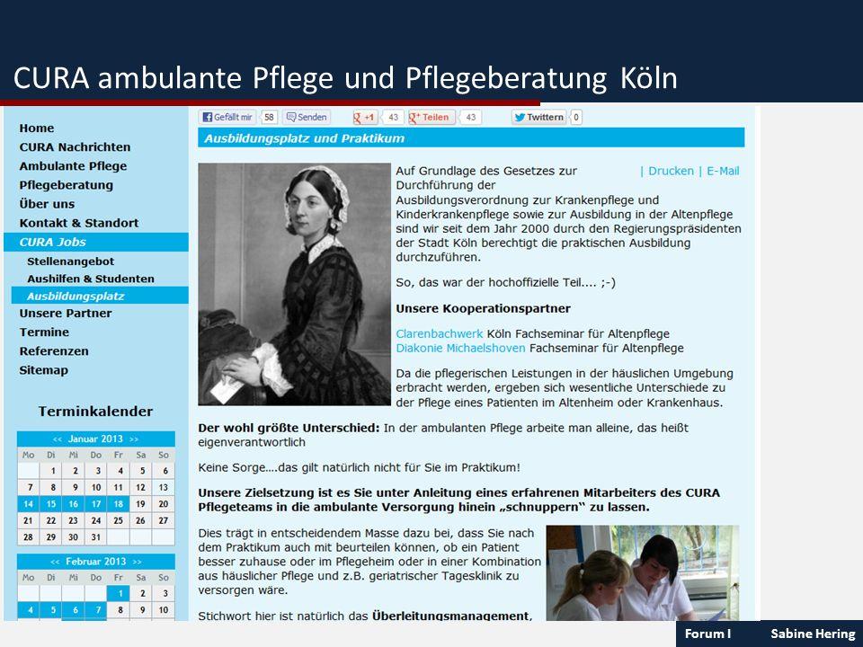 CURA ambulante Pflege und Pflegeberatung Köln
