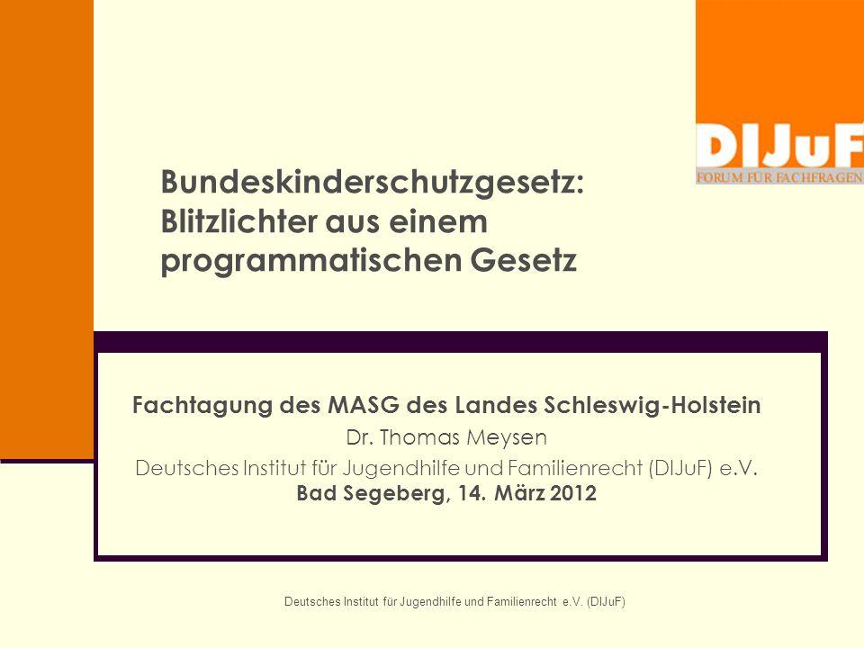 Fachtagung des MASG des Landes Schleswig-Holstein