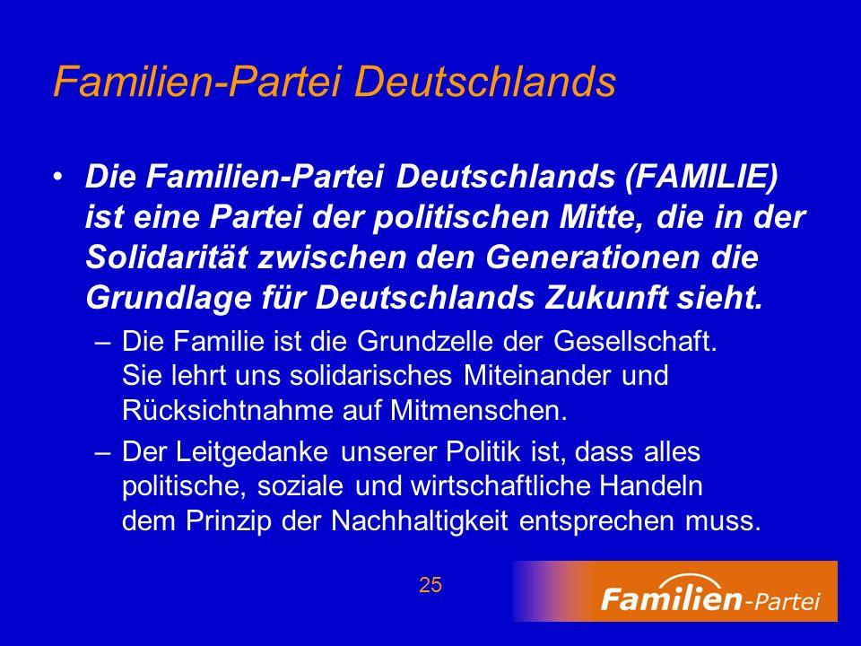 Familien-Partei Deutschlands
