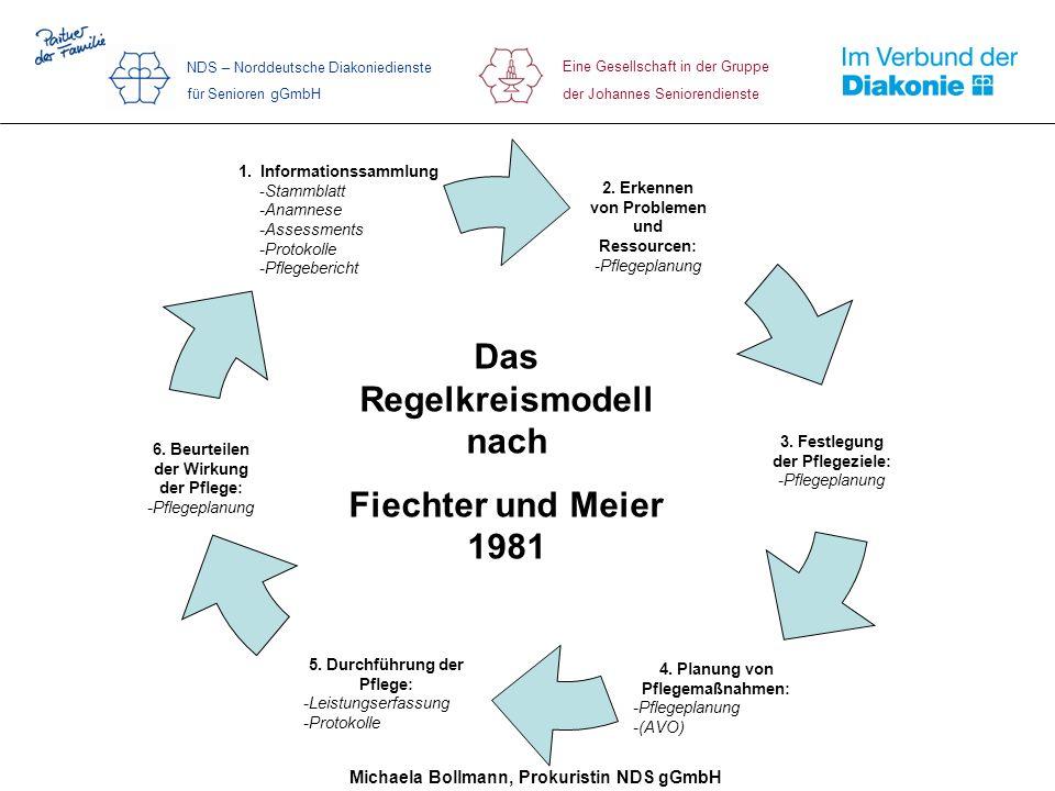 Das Regelkreismodell nach Fiechter und Meier 1981