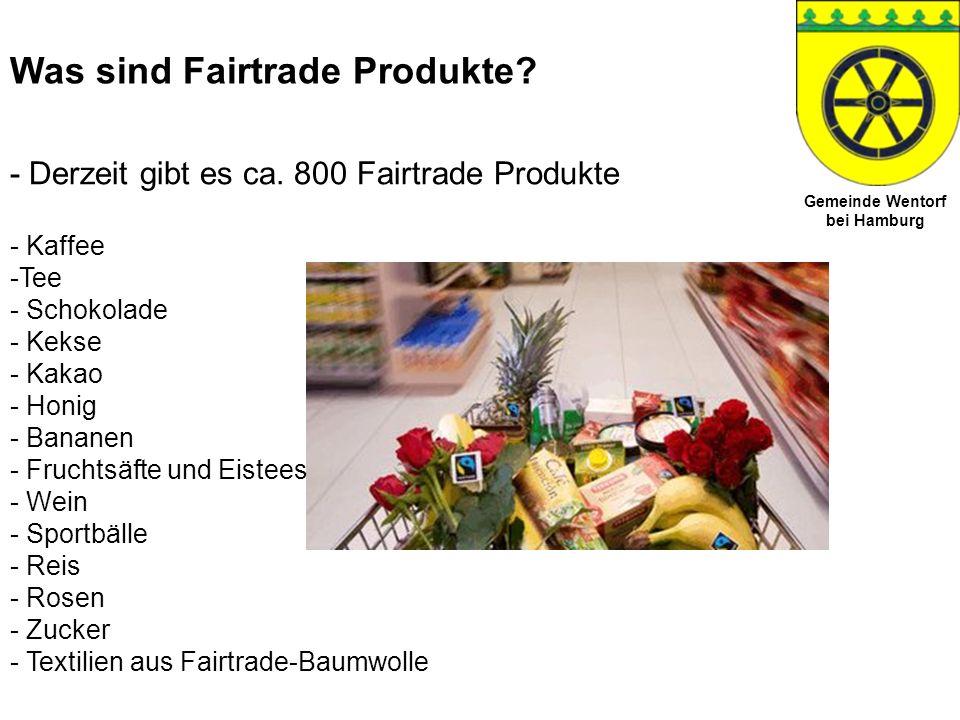 Was sind Fairtrade Produkte