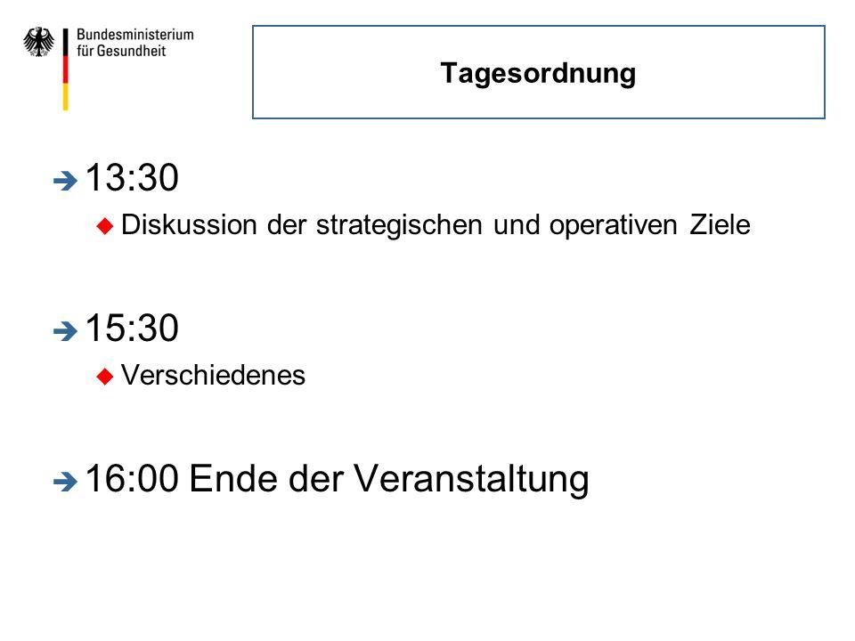 16:00 Ende der Veranstaltung