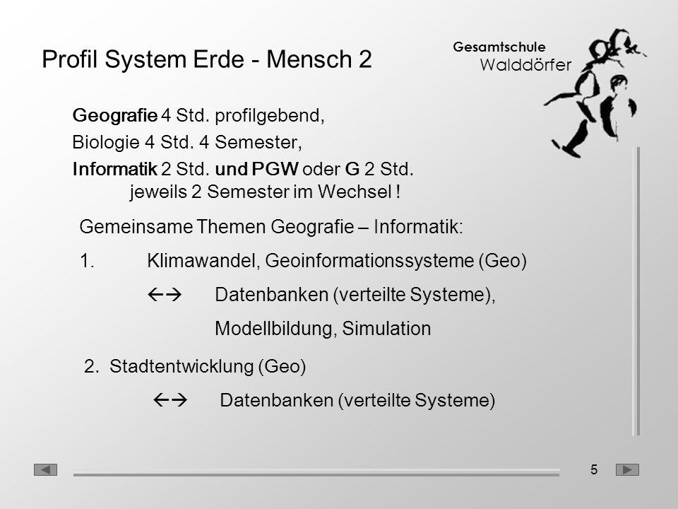 Profil System Erde - Mensch 2