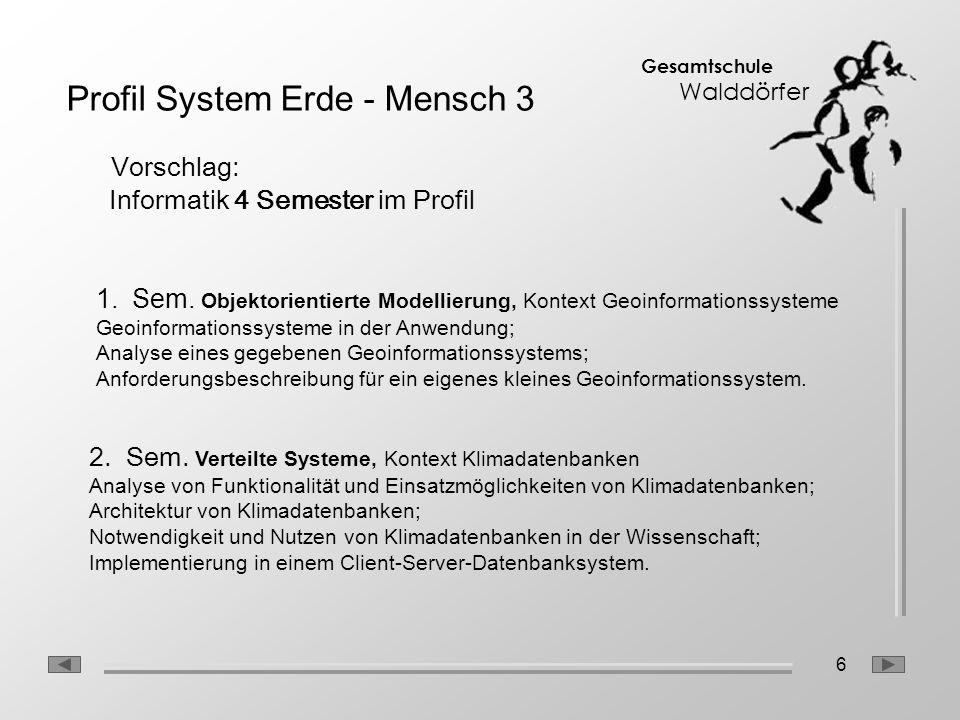 Profil System Erde - Mensch 3