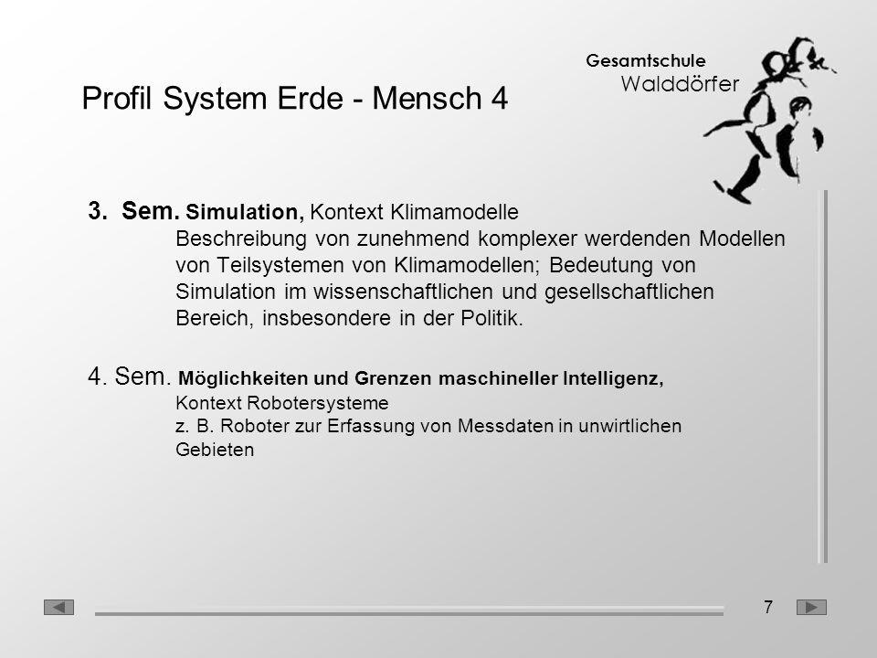 Profil System Erde - Mensch 4