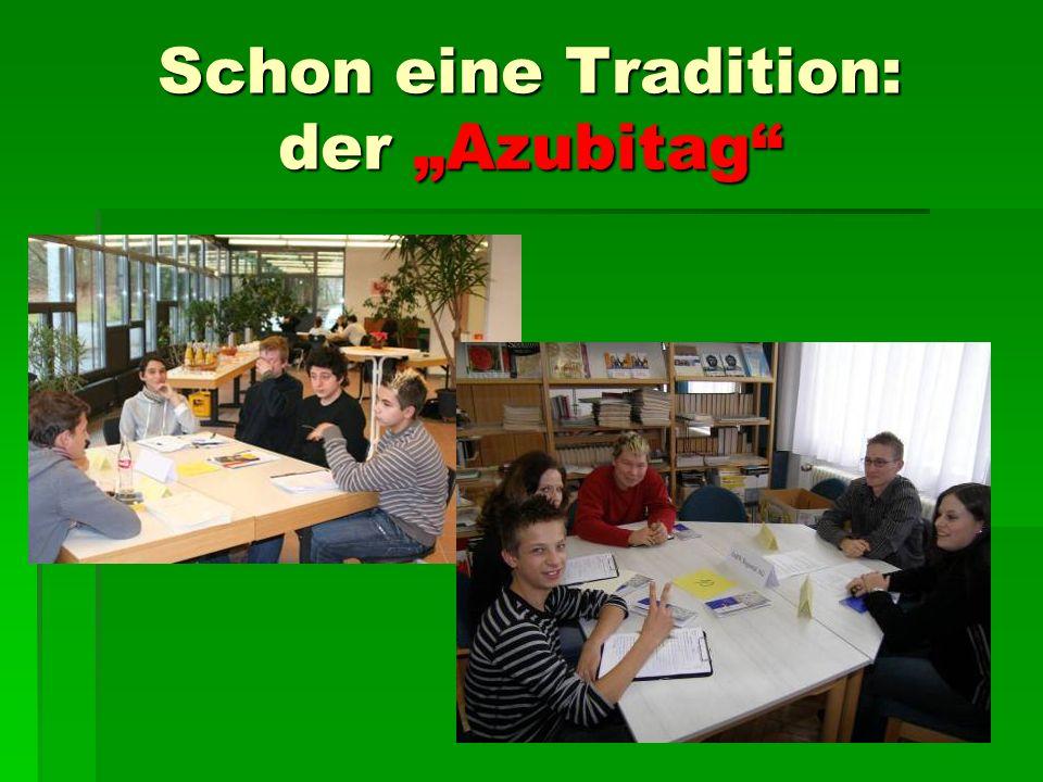 """Schon eine Tradition: der """"Azubitag"""