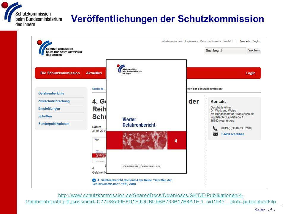 Veröffentlichungen der Schutzkommission