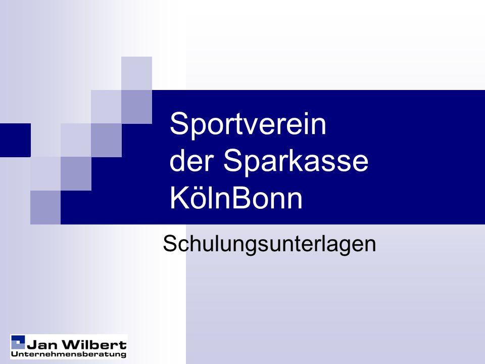 Sportverein der Sparkasse KölnBonn
