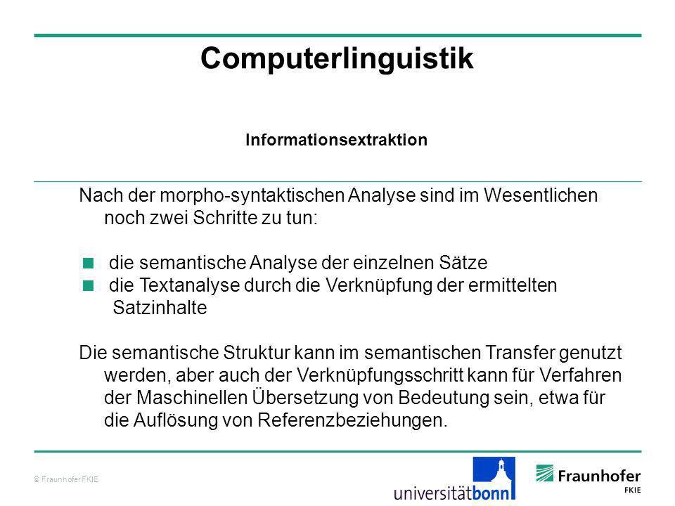 Informationsextraktion