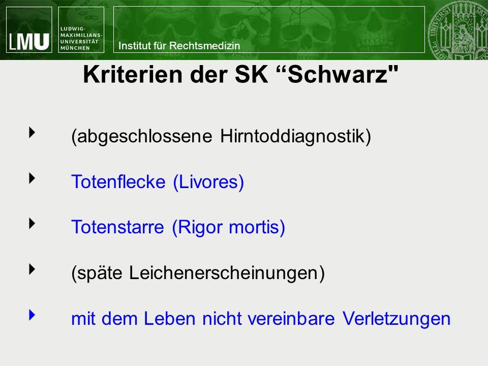 Kriterien der SK Schwarz