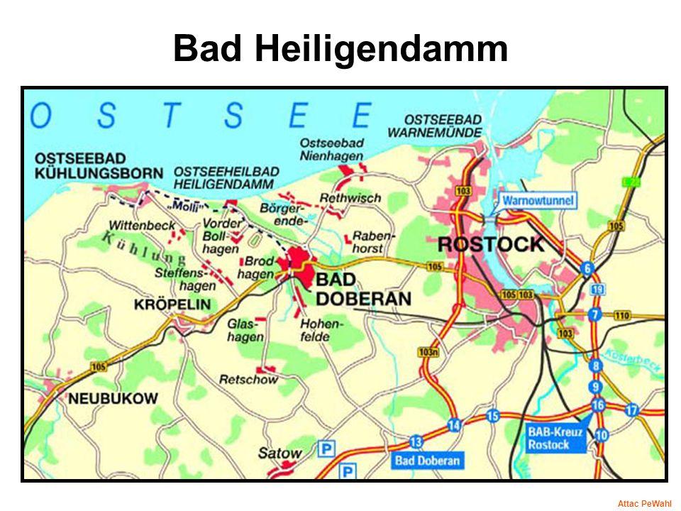 Bad Heiligendamm Attac PeWahl