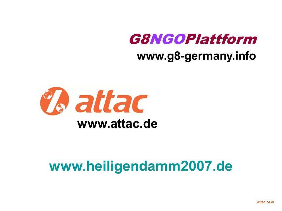 G8NGOPlattform www.g8-germany.info